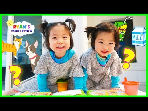 Interview With 2 Year Old Twins Emma And Kate! Q&A!