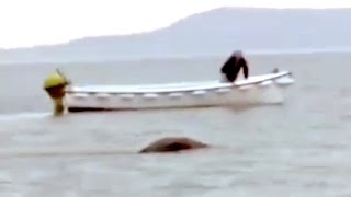 Loch Ness Monster caught on Tape