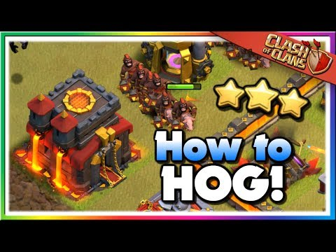 Comprehensive Guide For Hog Riders - TH10 Attack Strategy | Clash Of Clans