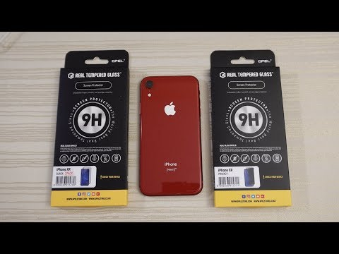 GPEL iPhone XR Privacy Tempered Glass Screen Protector!