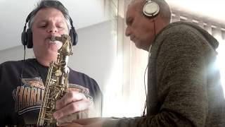Capitaine Flam (en duo confiné) smooth jazz sax version