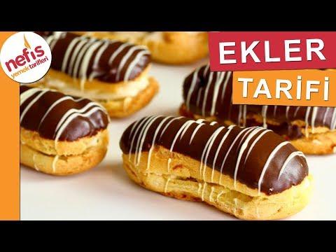 Pastane Lezzetinde Ekler - Pasta Tarifleri - Nefis Yemek Tarifleri