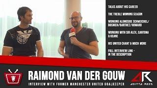 Raimond van der Gouw Interview - @StrettyNewsTV & @aditya_reds
