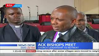 ACK leadership lead by Archbishop Jackson Ole Sapit to hold a 4-day conference at Kabarak university