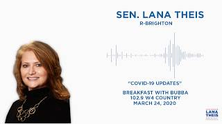 Sen. Theis joins W4 Country to discuss COVID-19