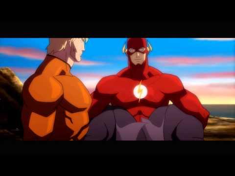 Aquaman Meets The Justice League