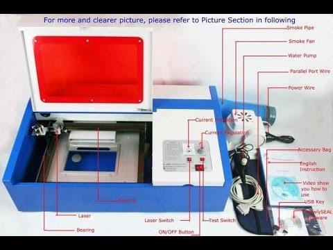 40w Chinese Laser Cutter Testing Doovi