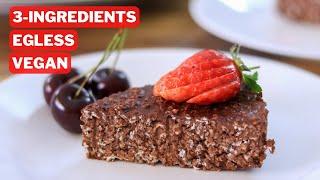 3-Ingredient Chocolate Oatmeal Cake Recipe