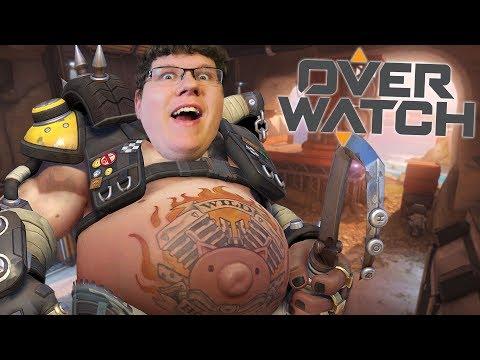 Wenn ich meinen Bauch zeige schreien sie alle! | Overwatch thumbnail