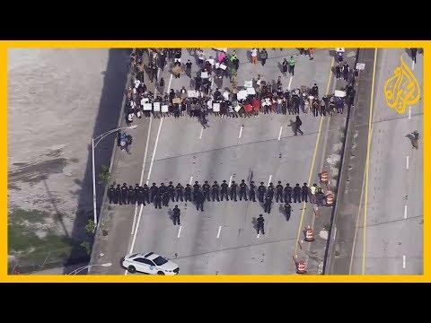 سطو ونهب وتخريب.. موجة اعتقالات في عدة دول أمريكية خلال الاحتجاجات على مقتل جورج فلويد
