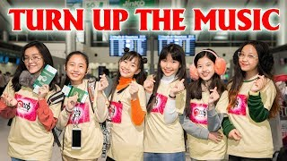 NGHỆ SĨ THỬ TÀI P336| TẬP 18: P336 GIRLS - TURN UP THE MUSIC (CHRIS BROWN)