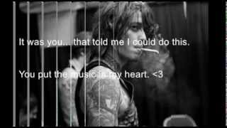 Asking Alexandria Someone, Somewhere (Ben Bruce Acoustic) (Lyrics)
