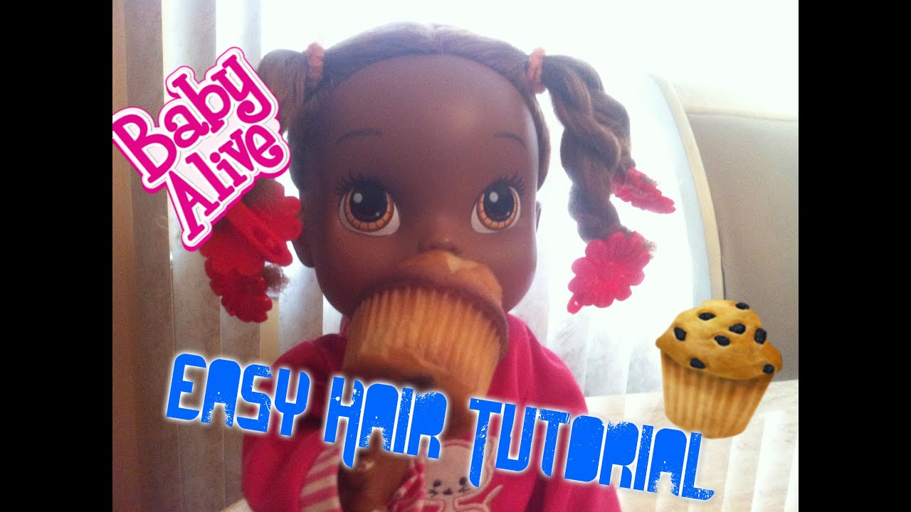 Hairstyles For Baby Alive Hair