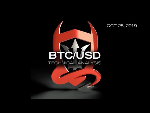 Bitcoin Technical Analysis (BTC/USD) : Are You A Week Trader...?  [10.25.2019]