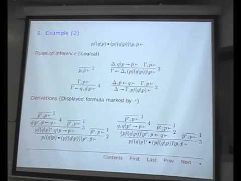 "Arno Bastenhof: ""Phase semantics and focused proof search for the Lambek-Grishin calculus"""