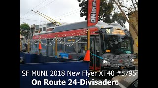 SF MUNI 2018 New Flyer XT40 #5…