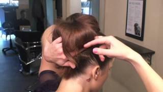 Ballerina Bun Hair Updo
