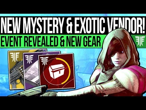 Destiny 2 | NEW EVENT REVEALED & CODE MYSTERY! Exotic Teasers, Quest Update, Foundry Vendors & More! thumbnail