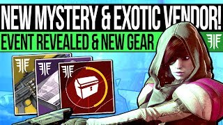 Destiny 2 | NEW EVENT REVEALED u0026 CODE MYSTERY! Exotic Teasers, Quest Update, Foundry Vendors u0026 More!