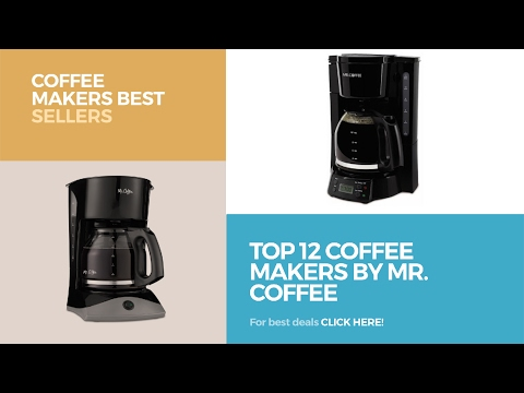 Top 12 Coffee Makers By Mr. Coffee // Coffee Makers Best Sellers