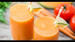 Cantaloupe-veggie Smoothie - Blendtec Recipes