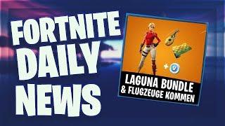 Fortnite Daily News *NEUES* LAGUNA BUNDLE & FLUGZEUGE KOMMEN (18 März 2019)