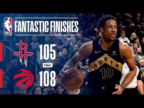 The Raptors Stop The Rockets Winning Streak on Drake Night!
