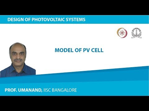 Model of PV cell