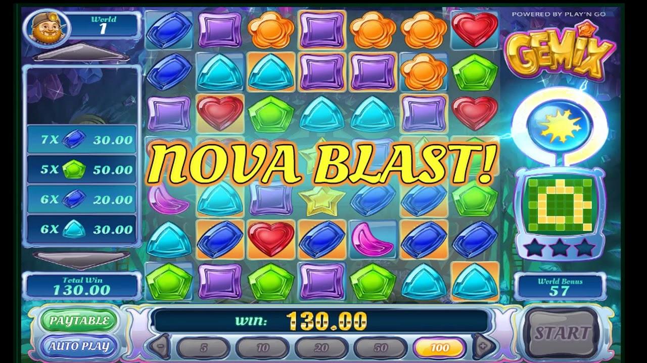 Gemix Slot Game Bonus Youtube