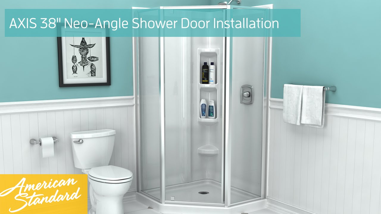 Neo angle shower door installation instructions