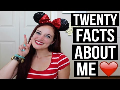 20 FACTS ABOUT ME. STORYTIME   THEMISSALLIECAKES