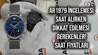 AR1979 Emporio Armani Kol Saati - Saat Alırken Dikkat Edilmesi Gerekenler