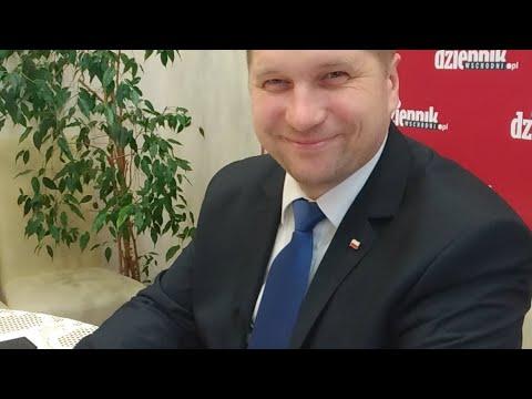 Wojewoda lubelski Przemysław Czarnek w redakcji Dziennika