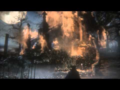 Bloodborne first time in Hunter's Dream after defeating Wet Nurse