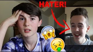 I GOT ROASTED BY A HATER AGAIN! *SUPER CRINGEY*