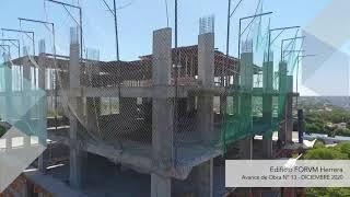 Avance de Obra: Edificio FORVM Herrera - Diciembre 2020