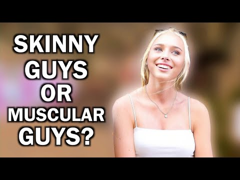 Do Swedish Girls Prefer Skinny Guys or Muscular Guys? (Stockholm, Sweden)