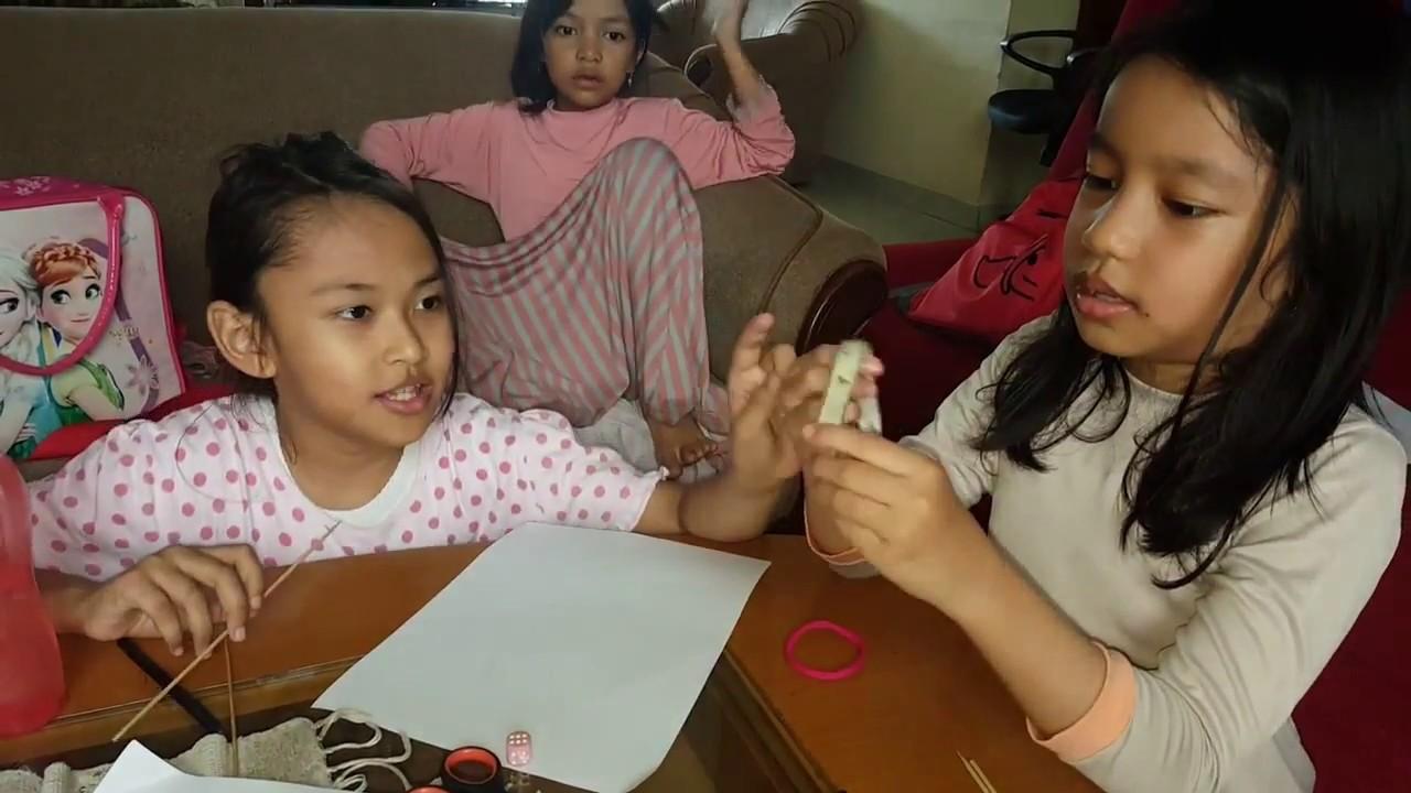 Cara Membuat Wayang Kertas Ala Anak Anak Diy By Tining Syams