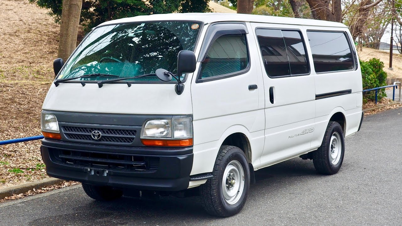 2003 Toyota Hiace 4WD Diesel 5-speed manual (Canada Import) Japan Auction  Purchase Review