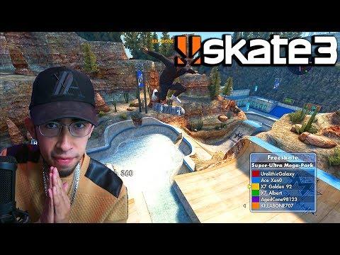 Skate 3 - X7 Gaming COMEBACK?? | X7 Albert