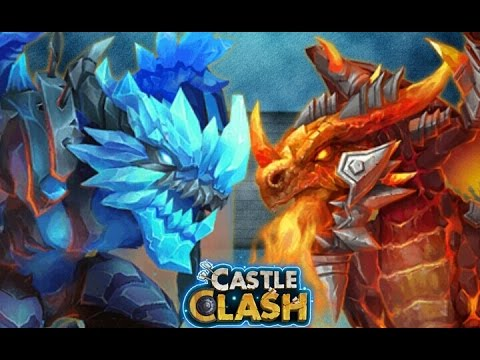 Castle Clash Moltanica Vs. Arctica! Who Would You Choose?