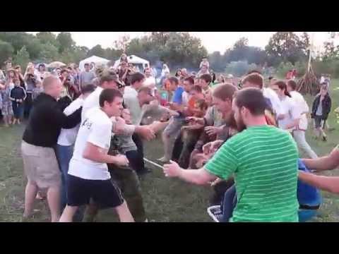 24.Народные забавы на празднике Ивана Купала Пермь 2015