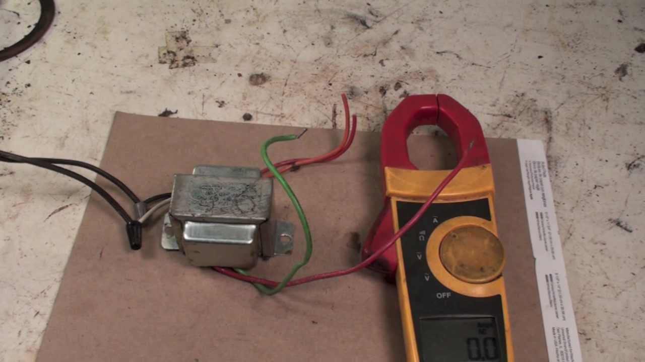 how to replace a transformer (without burning up the new one) youtubeGas Furnace Transformer Wiring #16