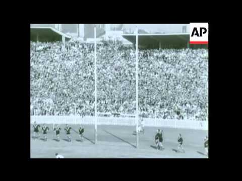 SECOND RUGBY LEAGUE TEST