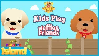 Grandparents React to Waffle and Friends Game!