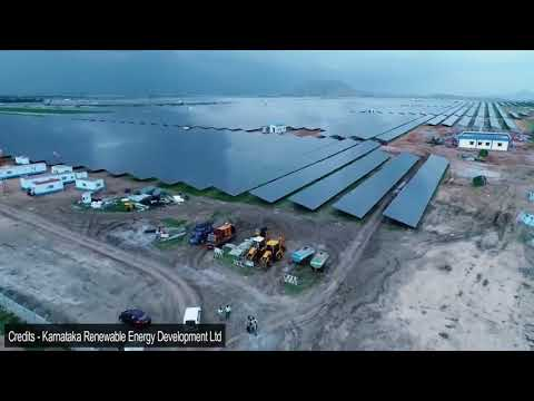 World's Largest 2000 MW (2 GW) Solar Power Park in Karnataka India