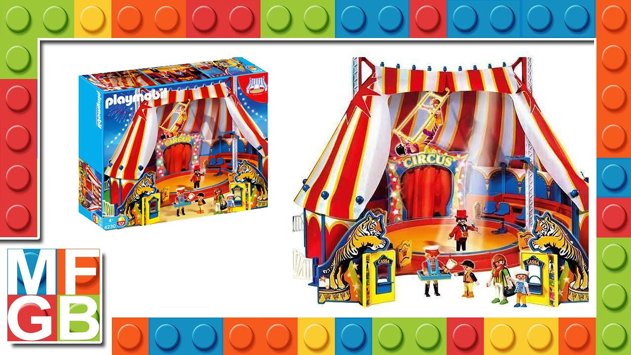 playmobile zirkus