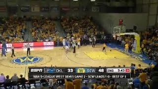 Top 3 Plays of the Night presented by Crown Royal: Warriors Advance