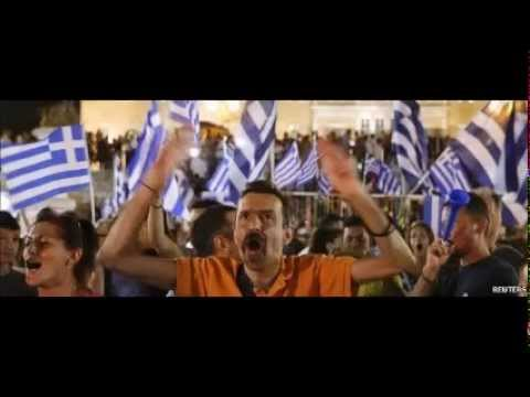 Greek voters reject bailout offer at referendum