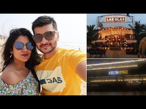 GOA Vlog Day 2 - Baga Beach, Sahil Khan's Beach Resort, Deltin Royale Casino